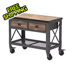 DuraMax Double Drawer Rolling Workbench