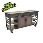 DuraMax Farmhouse Rolling Storage Cabinet