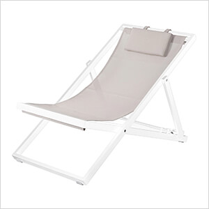 Newport Lounger - Taupe
