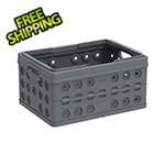 DuraMax Foldable Crate / Basket in Grey