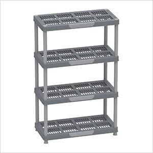 Freestanding 4-Tier Shelving Rack