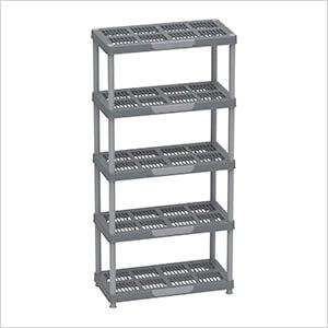 Freestanding 5-Tier Shelving Rack