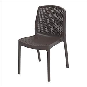 Rattan Chair - Brown
