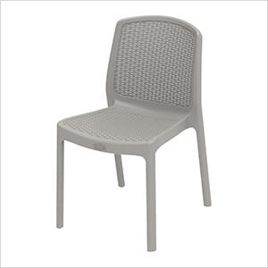 Rattan Chair - Grey