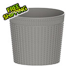 DuraMax Small Rattan Basket - Grey