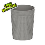 DuraMax Large Rattan Basket - Grey