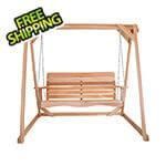 All Things Cedar 6-Foot A-Frame Swing Set