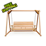 All Things Cedar 8-Foot A-Frame Swing Set