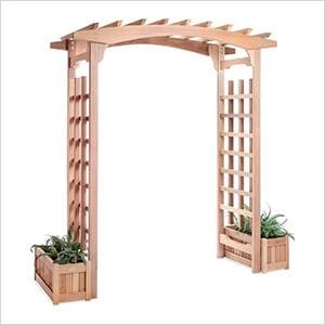 Pagoda Arbor Planter Box Set