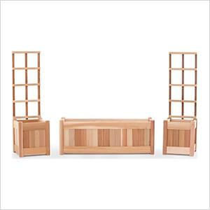 3-Piece Planter Set