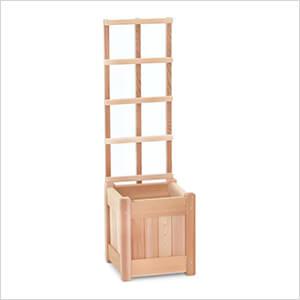 11-Inch Planter Box and Trellis
