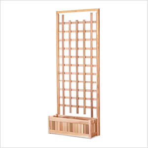 32-Inch Planter Box and Trellis