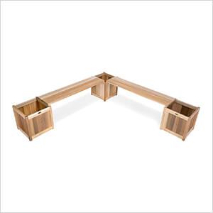 5-Piece Planter Bench Set
