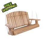 All Things Cedar Pergola Swing with Comfort Swing Springs