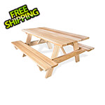 All Things Cedar 6-Foot Classic Picnic Table