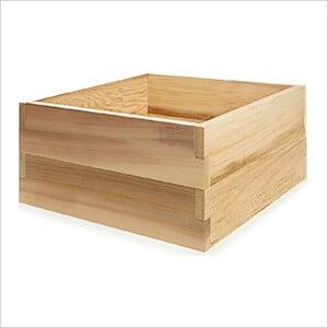 3-Foot Double Raised Garden Box