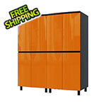 Contur Cabinet 5' Premium Traffic Orange Garage Cabinet System