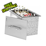 Bull Outdoor Products Stainless Steel Drop-In Outdoor Ice Chest