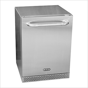 Premium Stainless Steel 4.9 Cu. Ft. Refrigerator