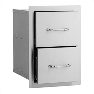 15'' Double Drawers