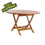 All Things Cedar Octagon Folding Table