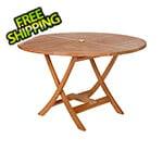 All Things Cedar Round Folding Table