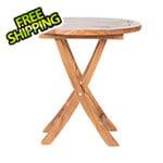 All Things Cedar Teak Bistro Table