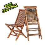 All Things Cedar Folding Chair Set
