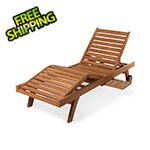 All Things Cedar Multi-Position Chaise Lounger