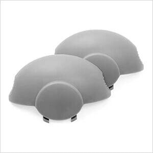 Grey Caps (2-Pack)