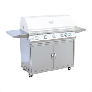 5-Burner Grill Cart (Grill Head Not Included)