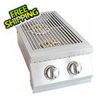 KoKoMo Grills 13-Inch 12K BTUs Double Side Burner (Natural Gas)