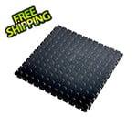 Lock-Tile 7mm Black PVC Coin Tile (10 Pack)