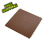 Lock-Tile 7mm Brown PVC Coin Tile (10 Pack)