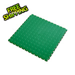 Lock-Tile 7mm Green PVC Coin Tile (10 Pack)
