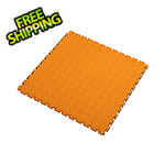 Lock-Tile 7mm Orange PVC Coin Tile (10 Pack)