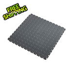 Lock-Tile 7mm Dark Grey PVC Coin Tile (50 Pack)