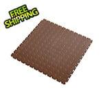 Lock-Tile 7mm Brown PVC Coin Tile (50 Pack)
