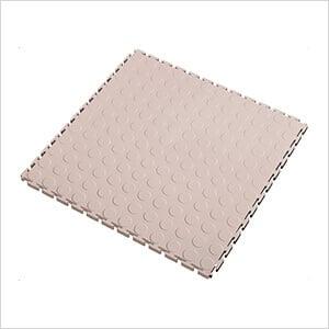 7mm Tan PVC Coin Tile (50 Pack)