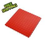 Lock-Tile 7mm Red PVC Coin Tile (50 Pack)