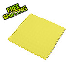 Lock-Tile 7mm Yellow PVC Coin Tile (50 Pack)