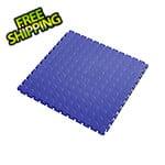 Lock-Tile 7mm Blue PVC Coin Tile (50 Pack)
