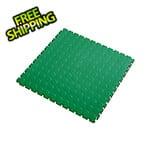 Lock-Tile 7mm Green PVC Coin Tile (50 Pack)