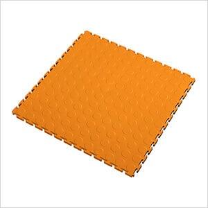 7mm Orange PVC Coin Tile (50 Pack)