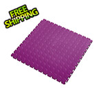 Lock-Tile 7mm Purple PVC Coin Tile (50 Pack)
