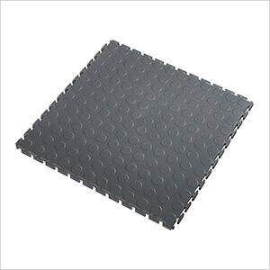 5mm Dark Grey PVC Coin Tile (50 Pack)