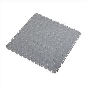 5mm Light Grey PVC Coin Tile (50 Pack)