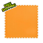 Lock-Tile 7mm Orange PVC Smooth Tile (10 Pack)