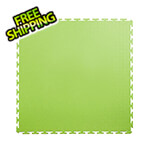 Lock-Tile 7mm Neon Green PVC Smooth Tile (10 Pack)