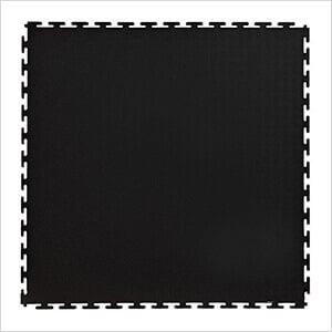 7mm Black PVC Smooth Tile (30 Pack)
